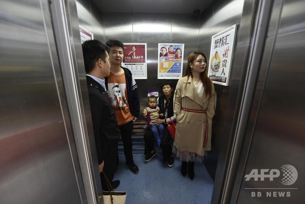 合肥市のエレベーターに「優先席」 安徽