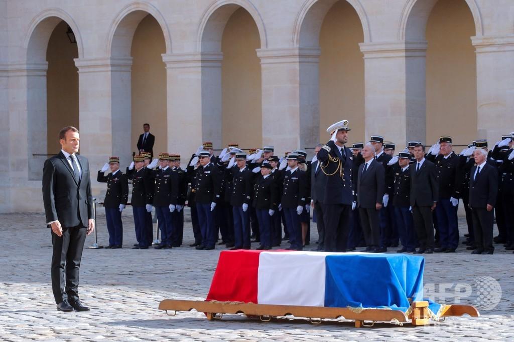 シラク仏元大統領の「国喪の日」、プーチン氏ら各国首脳も参列