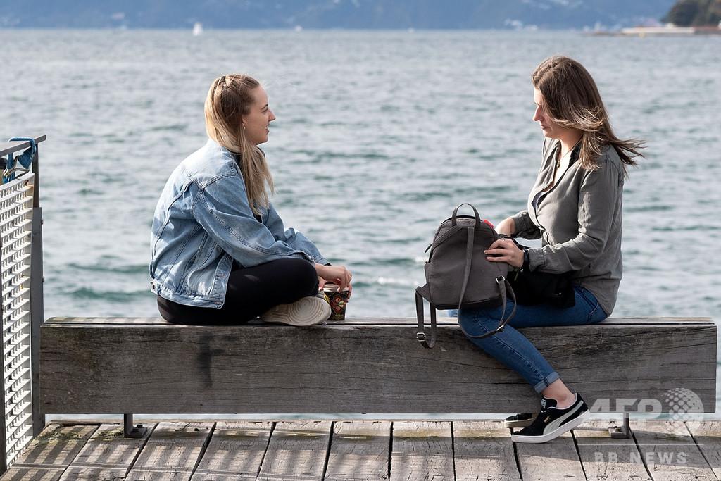 NZで7週間ぶり外出制限解除、経済再開 「新しい日常」始まる