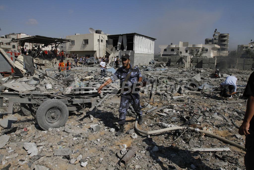 ガザ地区からロケット弾発射、イスラエル軍は空爆 暴力の応酬続く 写真 ...