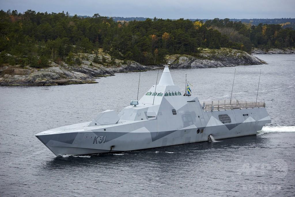 スウェーデンの海底に「ロシアの小型潜水艦」、ダイバーら主張