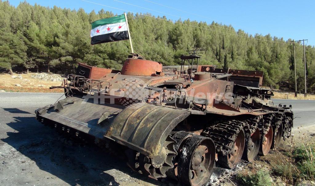 シリア反体制派の自由シリア軍、総攻撃開始を宣言