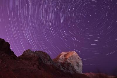 新疆ウイグル自治区でジャコビニ流星群を観測