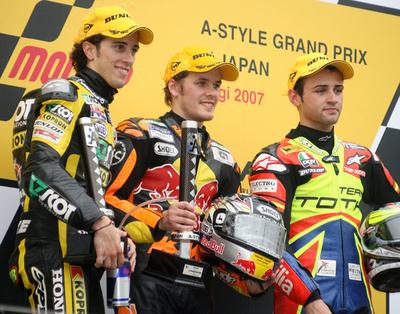 ミカ・カリオ 日本GP・250ccクラスでシーズン初勝利を挙げる