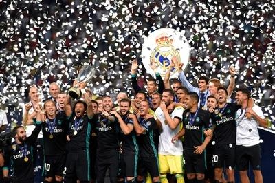 レアルがUEFAスーパーカップ制覇、イスコの活躍でマンU退ける