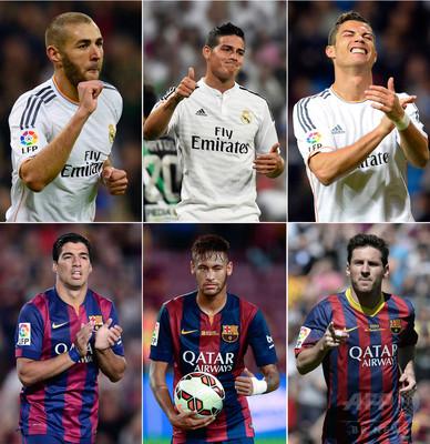 スペイン1部リーグ、クラシコなどの試合日程を変更 写真1枚 ...