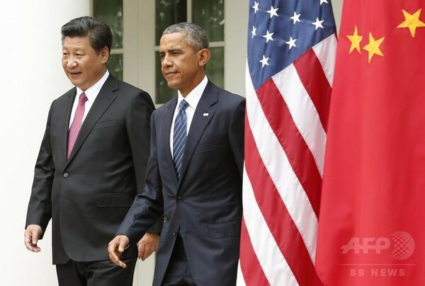 米中首脳、サイバー攻撃抑止などで合意も人権・領有権で意見に相違