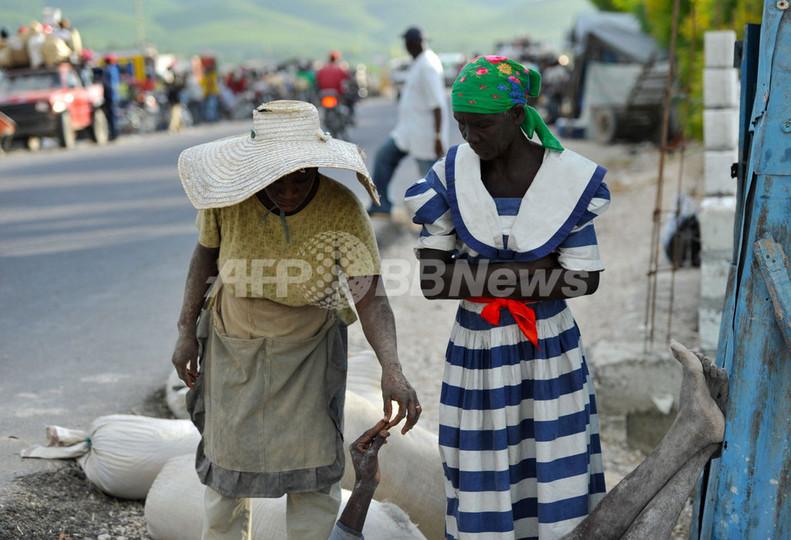 ハイチ、首都でもコレラ死者 全土での死者583人に