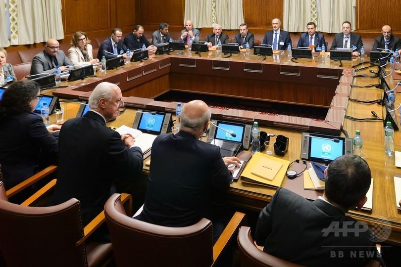 シリア反体制主流派の最大組織、ジュネーブの和平協議に参加表明