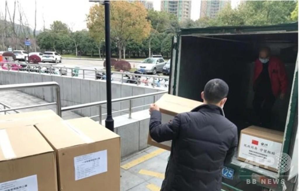 企業も個人も自治体も、中国が日本へマスクの「恩返し」