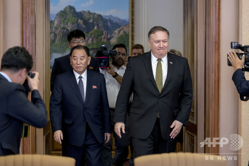 米朝高官協議延期、北朝鮮の要請だった 韓国外相
