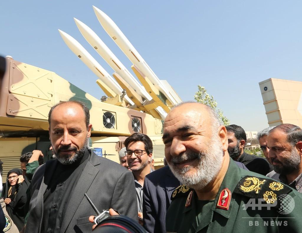 「自国を主戦場にしたいならかかってこい」イラン革命防衛隊