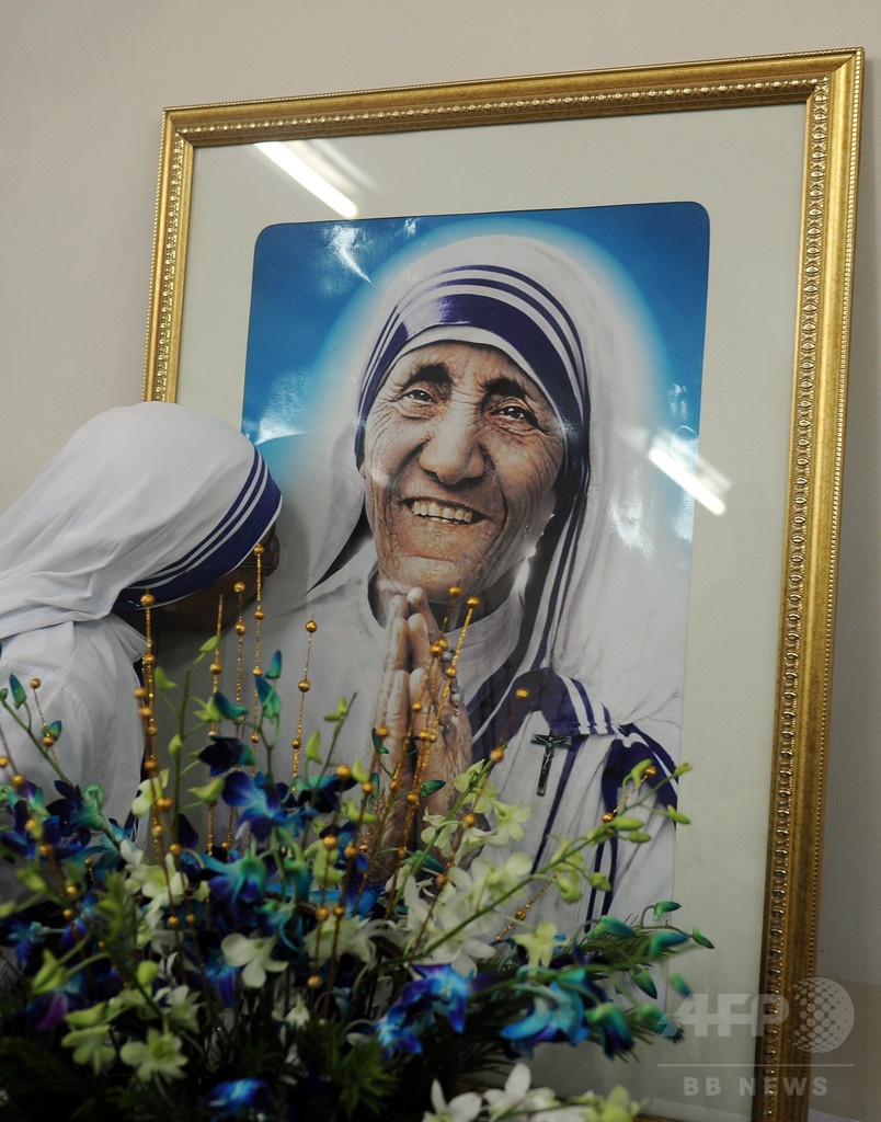 マザー・テレサの二番目の奇跡、法王が認定 列聖に弾み