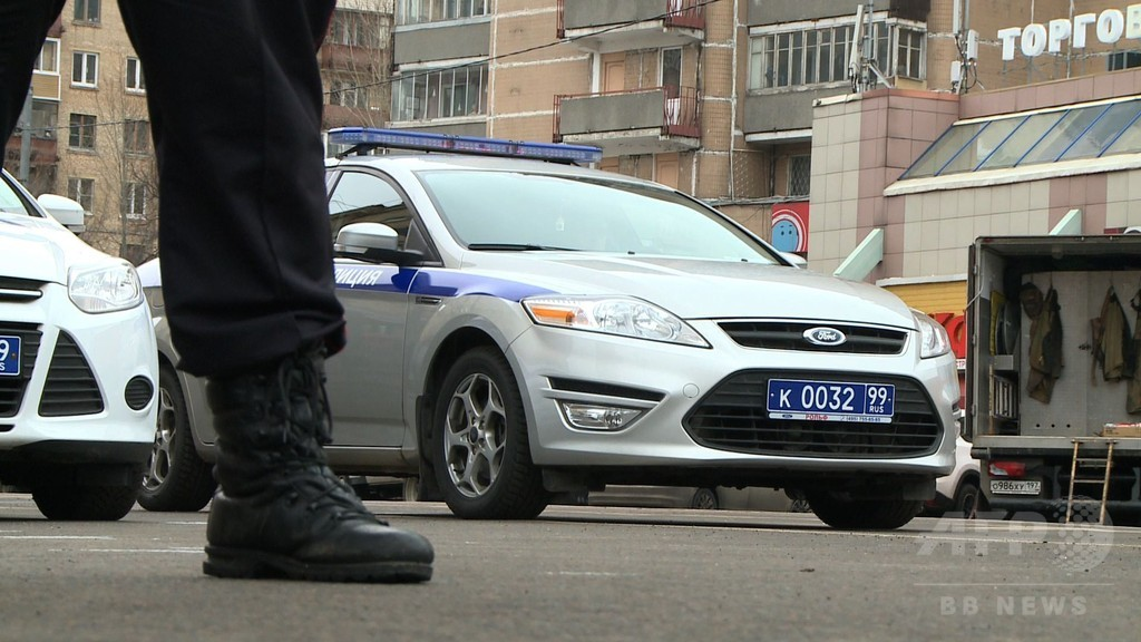 女児の切断頭部掲げ「爆破」脅迫 モスクワで女逮捕