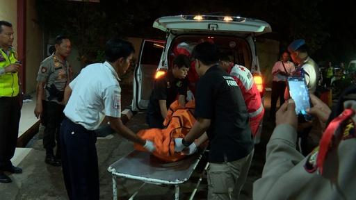 動画:189人搭乗のインドネシア機が墜落、「全員死亡の恐れ」と当局