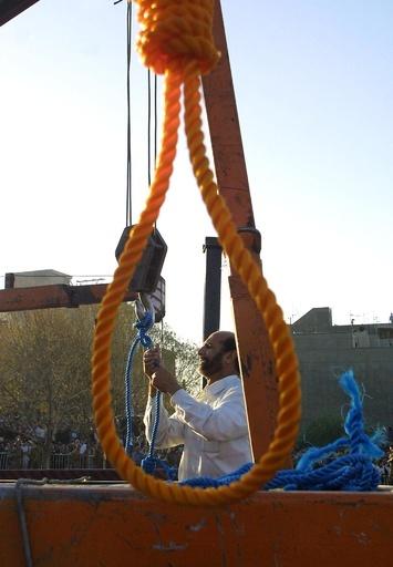 絞首刑後に息を吹き返した男、終身刑に減刑か イラン