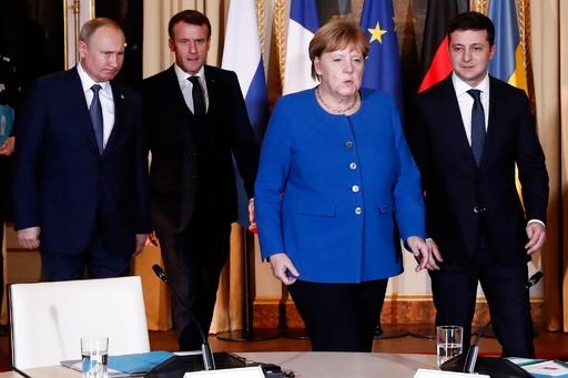 ロシア・ウクライナ首脳、パリで会談 和平目指し協議