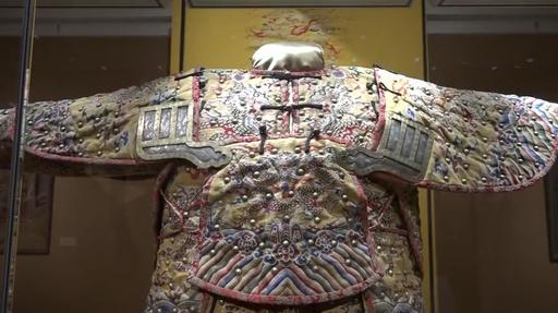 動画:清朝・乾隆帝の甲冑を展示 山西