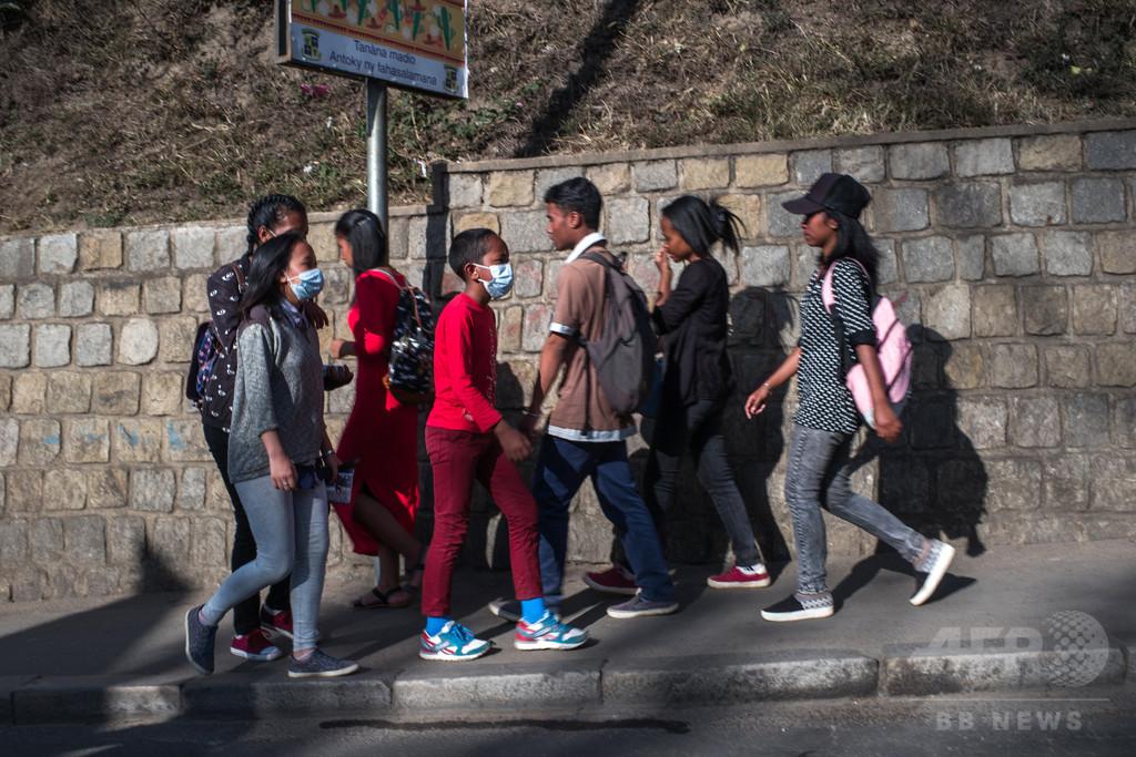 ペスト流行のマダガスカル、刑務所への訪問禁止 死者36人に