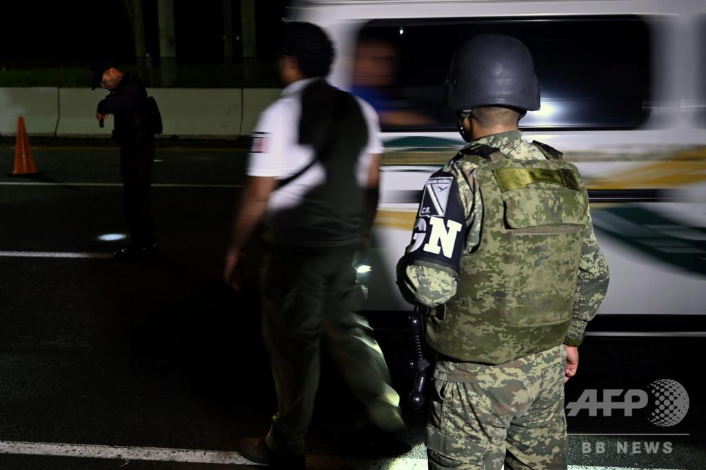 イスラム過激派の支持者、メキシコ移民施設で逮捕後に米国に送還