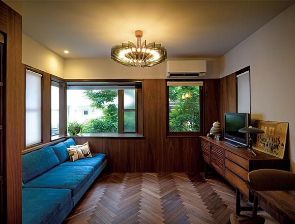 【ENGINE・ハウス】中古住宅をリノベーション 2代目ギブリが相棒の素敵な〝ビンテージ・ライフ〞