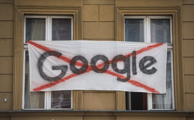 パンクな街にグーグルは要らない、再開発に反対運動 独ベルリン【再掲】