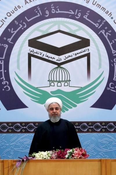 イラン大統領、イスラム教徒に対米団結呼び掛け サウジを「兄弟」とも