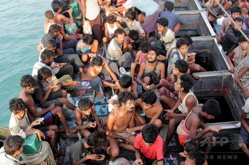 マレーシアとインドネシア、漂流難民受け入れへ 上陸拒否から一転