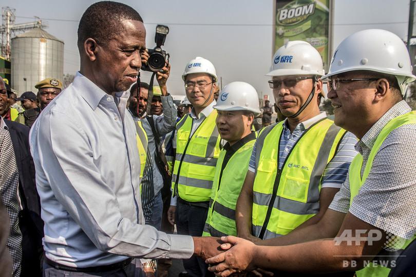 「中国にノーと言おう」 対中債務と影響力拡大に反発 ザンビア