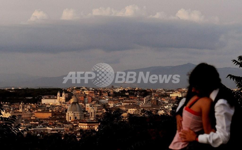 ローマで5月11日に巨大地震?うわさ蔓延で市民がパニック