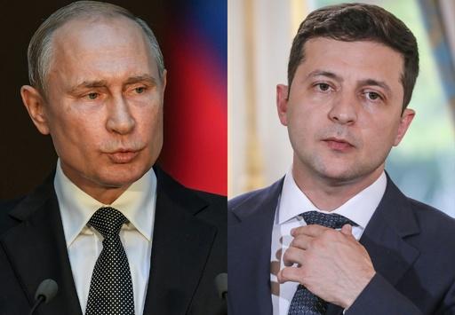 プーチン氏、ウクライナ新大統領と初の電話会談