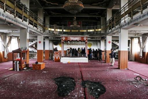アフガン首都でシーク教寺院襲撃、25人死亡 ISが犯行声明
