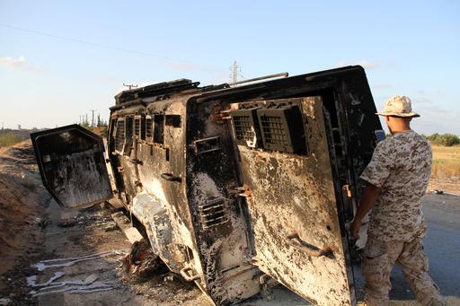 リビア首都、子ども50万人「差し迫った危機」直面 ユニセフ
