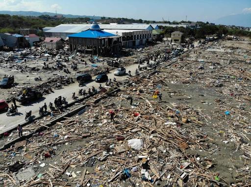 スラウェシ島地震、子ども34人の遺体発見 教会で聖書の会に参加