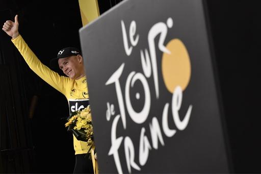 フルームの薬物疑惑晴れる、ツール・ド・フランス出場禁止処分も解除