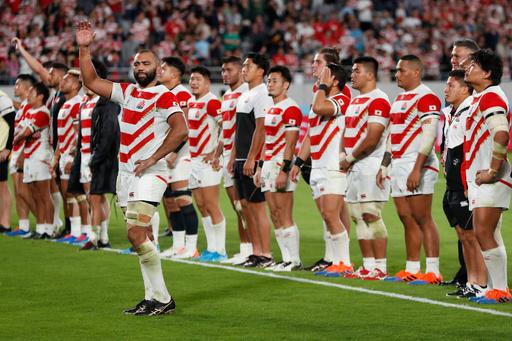 日本は4強ならず、準々決勝で南アフリカに完敗 ラグビーW杯
