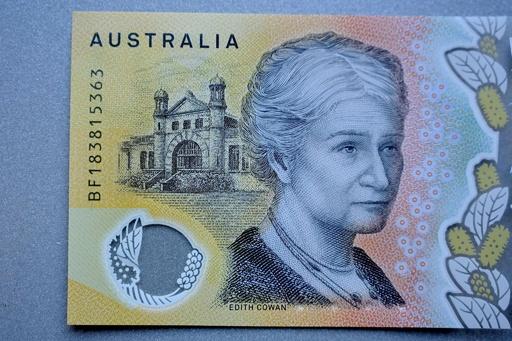 オーストラリア中銀が失態、50豪ドル紙幣にスペルミス