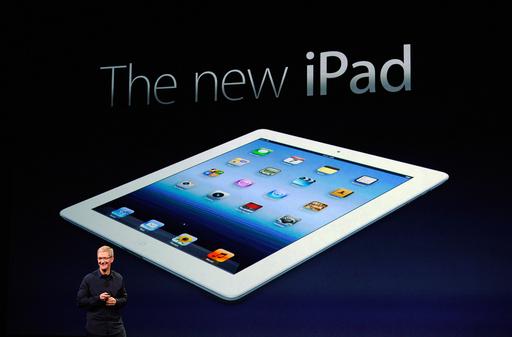 アップル、新型iPadを発表 従来機種は値下げ