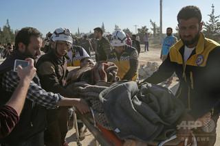 シリア化学兵器「捏造」の証拠とされた写真、実は映画撮影と判明