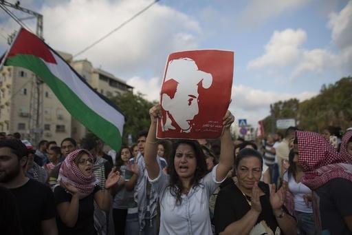 パレスチナ少年に「生きたまま火をつけて殺害」、3容疑者が供述