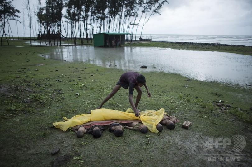 ロヒンギャ難民が50万人以上に、「人道と人権の悪夢」国連総長