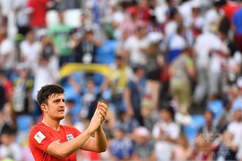 イングランドが28年ぶりW杯4強、スウェーデンに快勝