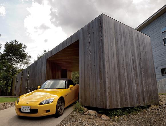 【ENGINE・ハウス】愛車はホンダS2000とアコード・ユーロR スポーツカーのような家
