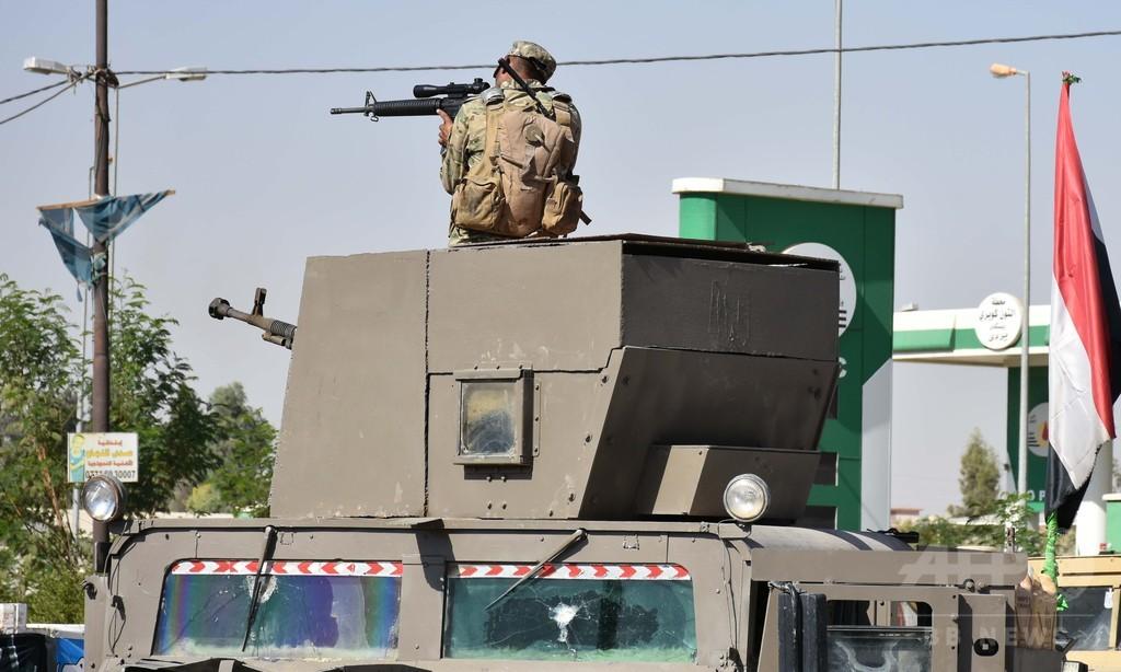 イラク軍とクルド勢力の衝突、死者31人に