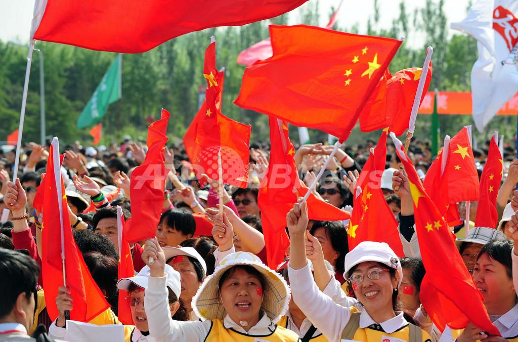 IOC会長、中国への非難中止を要求 発展には時間が必要