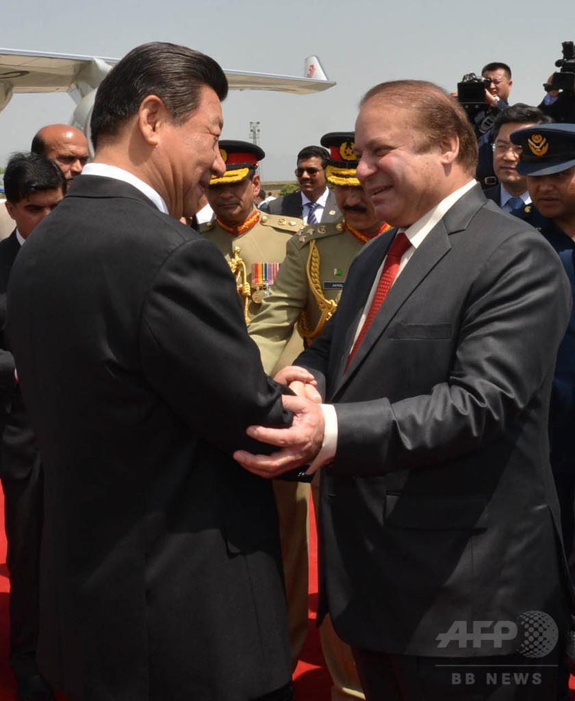 中国、パキスタンのインフラ開発に5.5兆円 「経済回廊」整備へ