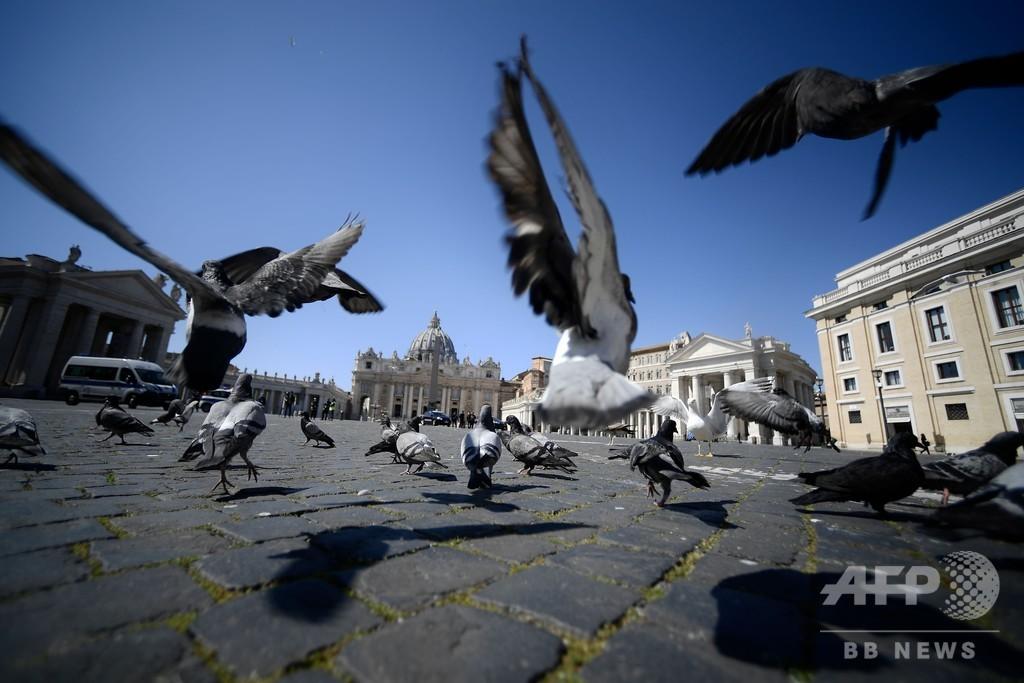 イタリアの感染者増加率、4日連続で減少 厳しい封鎖で効果