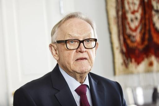 ノーベル平和賞受賞のフィンランド元大統領、新型ウイルスに感染