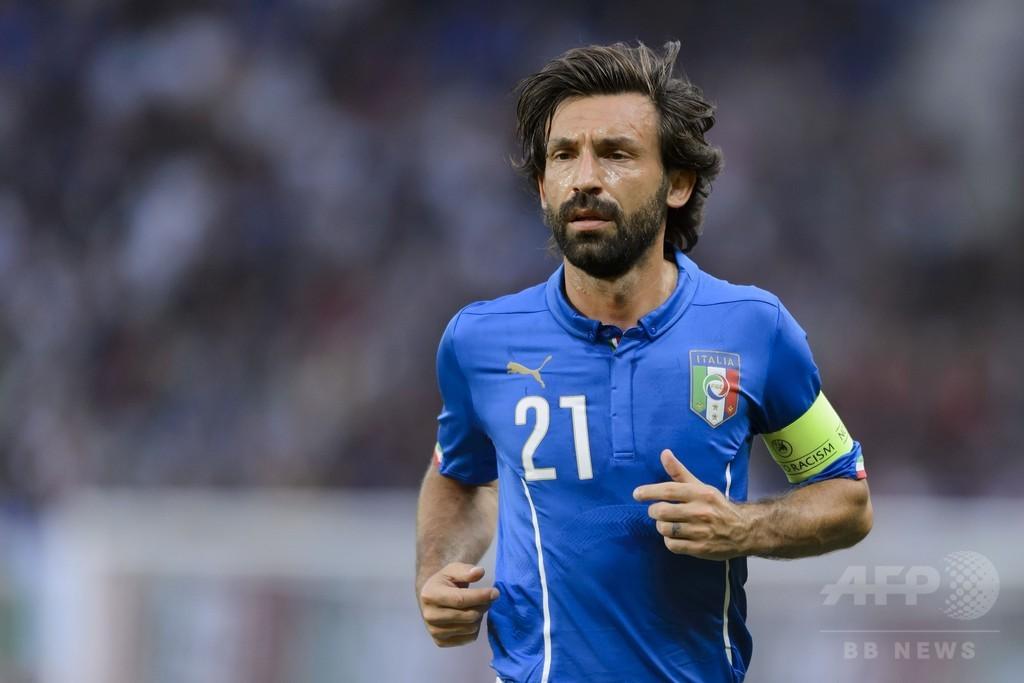 「サッカー選手としての旅路を終える」 元イタリア代表ピルロが現役引退