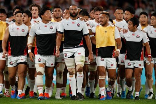 【写真特集】ラグビーW杯準々決勝、日本対南アフリカ